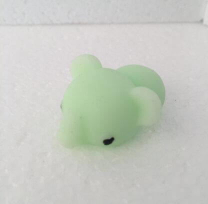 Mini mus lysegrøn squishy