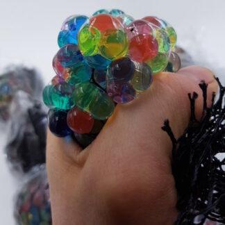 Sort stressbolde med vandperler sort udsalg