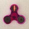 Electroplated Tri-bar fidget spinner - happy birthday
