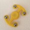 Fidget spinner anker gul