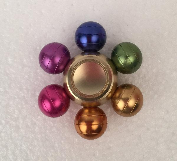 Fidget spinner metal multifarvet justerbar-fidget-spinner