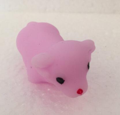 Finger squishy mini får pink squishy