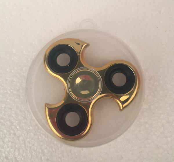 Hand spinner - guld krom ninja