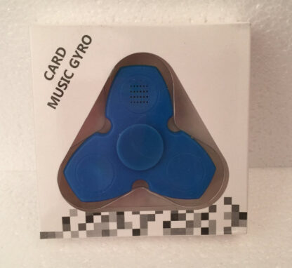 Music spinner - bluetooth speaker