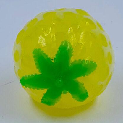 Frugt stressbold med vandperler citron udsalg