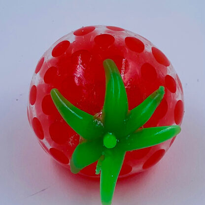 Frugt stressbold med vandperler jordbær udsalg