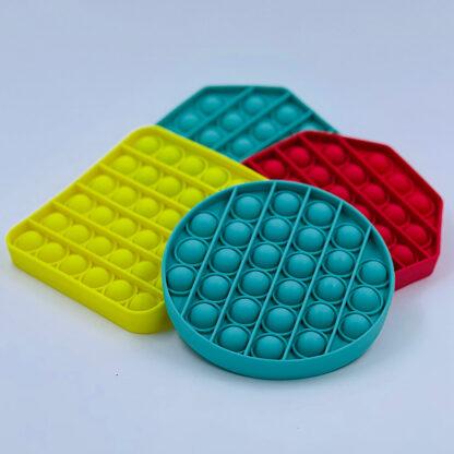 Pop it antistress Fidget Toy ensfarvet