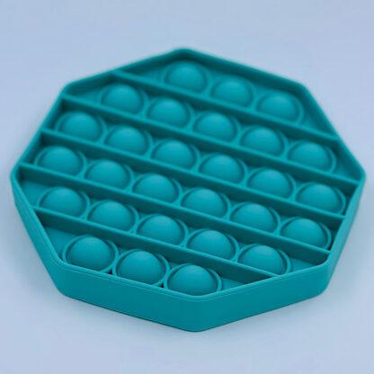 Pop it Fidget Toy Antistress Sekskantet grøn