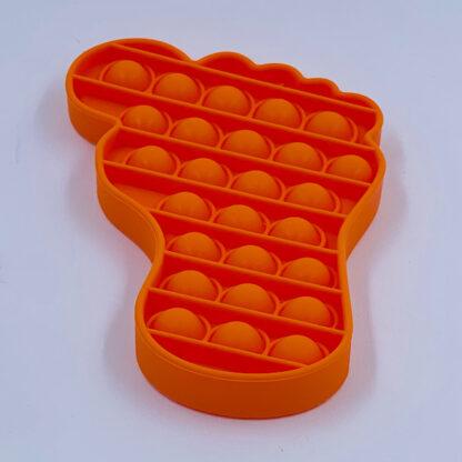 Pop it fødder Fidget Toy orange Pop Fidget udsalg