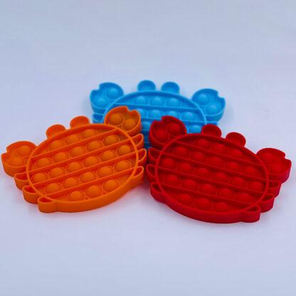 Pop it krabber Fidget Toy Pop Fidget udsalg