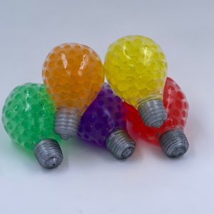 Stressbold elpære med vandperler udsalg
