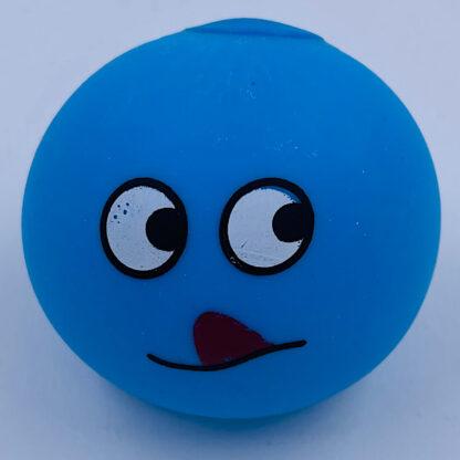 Stressbold med lækker emoji lyseblå udsalg