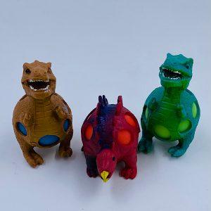 Dinosaurusser stressbold med slim i maven udsalg