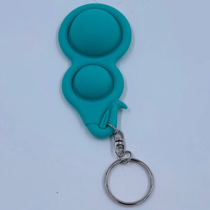 Simple Dimple nøglering grøn Fidget Toy udsalg
